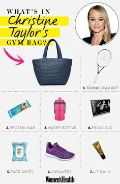The Workout Christine Taylor Does with Hubby Ben Stiller  http://www.lauraomelia.com #p90x3 #beachbody