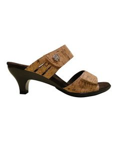 Love this Helle Comfort Natural Bona Sandal by Helle Comfort on #zulily! #zulilyfinds