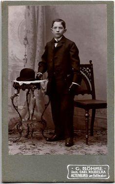Scarce ORIGINAL 1880s Antique German CDV / German RICH by UCRONIA