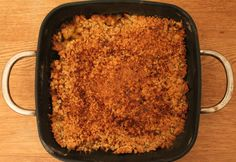 Apple Crumble with Coconut Sugar https://www.facebook.com/blackmarketbio