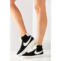 2dc2d8c40147 Nike Women s Blazer Mid Suede Vintage Sneaker ( 100) ❤ liked on Polyvore  featuring shoes
