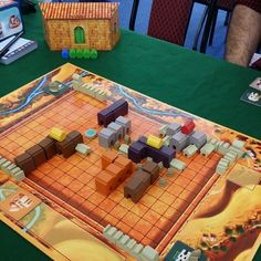 medina game board & player screen