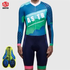 39.54$  Buy now - 2017 AOSTER One-pieces Cycling Jerseys Racing Team PRO Men Bicycle Jersey Summer Style Triatlon Bike Skinsuit Clothing Apparel  #aliexpresschina