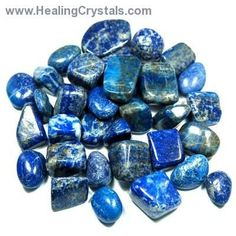 Lapis Lazuli symbolizes royalty, honor, gods, power, spirit & vision. In ancient Persia it was a symbol of the starry night & used to ward off the evil eye. In medieval Europe it was the blue of the heavens & was believed to counteract the wiles of the spirits of darkness & procure the aid & favor of the spirits of light & wisdom. Buddhists recommend it as a stone to bring inner peace & freedom from negative thought. Aids intellectual analysis - a powerful crystal for activating the higher…