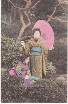 1909 Japanese Women