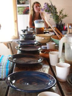 Late Spring Forage Harvest and Feast Harvest, Spring, Tableware, Dinnerware, Dishes