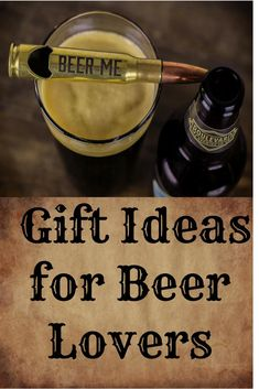 Unique gifts for men and women who love beer. Bullet bottle openers, pint glasses, six shooter shot glasses, and more. Gifts that can be personalized for that special someone. Wedding Gifts For Men, Unique Gifts For Men, Gifts For Dad, Beer Subscription, Craft Beer Gifts, Beer Club, Beer Soap, Gifts For Beer Lovers, Bottle Shop