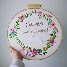 Hollyhavisham - broderies contemporaines - embroidery