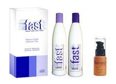 FAST FASTER HAIR GROWTH SHAMPOO PRODUCTS + MOROCCAN ARGAN HAIR OIL TREATMENT