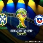 The 1st Match of the 2014 FIFA World Cup Round of 16 Stage will be played today 28th June, at Estadio Mineirao (Belo Horizonte) Brazil in between the Group A Team of FIFA 2014 World Cup Brazil and Group B Team of FIFA 2014 World Cup Chile (Brazil V/S...