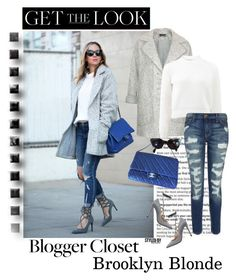 """""""Get The Look- Blogger Style"""" by marion-fashionista-diva-miller ❤ liked on Polyvore featuring Chanel, Valentino, Topshop, T By Alexander Wang, Current/Elliott, CÉLINE, GetTheLook, StreetStyle, BloggerStyle and fallfashion"""