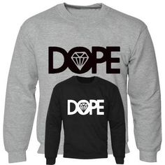 Men Boy Unisex Dope Sweater Hoodie Pullover Jumper Diamond Sweat Shirt All Sizes £11.99