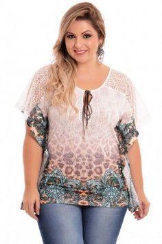 Blusa Plus Size Meyla