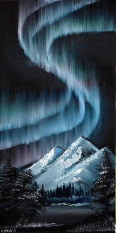 Items similar to Dancing Lights Aurora Original Oil Painting of the Northern lights 12 inch by 24 inch on Etsy - Dr. Nyanpasu - Items similar to Dancing Lights Aurora Original Oil Painting of the Northern lights 12 inch by 24 inch on Etsy - Galaxy Painting, Light Painting, Acrylic Painting Canvas, Night Sky Painting, Black Canvas Paintings, Canvas Canvas, Painting Northern Lights, Black Canvas Art, Trippy Painting