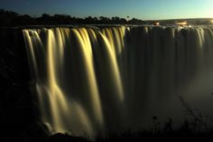 The Victoria Falls by Moonlight  just a 2 hour drive from Sable Sands Hwange!