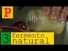 Como fazer fermento natural - Vídeo 3