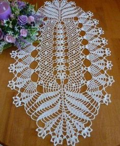 ideas crochet doilies oval tablecloths for 2019 Crochet Doily Rug, Crochet Doily Patterns, Crochet Borders, Crochet Tablecloth, Thread Crochet, Crochet Gifts, Crochet Designs, Crochet Stitches, Easy Crochet Projects