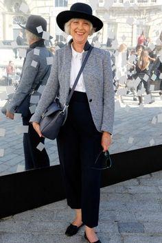 Ser estiloso ou estilosa não tem nenhuma relação com a idade e inúmeras mulheres provam isso com muita classe. Confira looks fashion em qualquer idade.