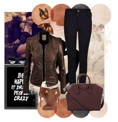 """Bez naslova #2"" by deni982 ❤ liked on Polyvore featuring Armani Jeans, Givenchy, Giuseppe Zanotti and Americanflat"