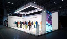 Kappa ski exhibition stand at ISPO Munich 2015, Munich – Germany » Retail Design Blog