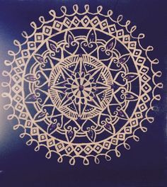 A personal favorite from my Etsy shop https://www.etsy.com/listing/222035788/hand-painted-mandala-canvas-each-canvas