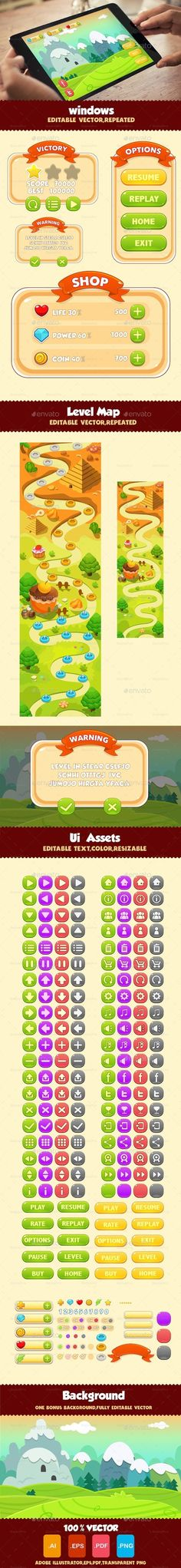 Game UI Pack 01 (User Interfaces)