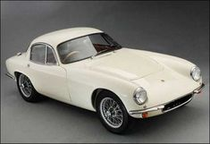 Lotus Elite  The elegant, lightweight two-seater unveiled in 1957 rather than its slightly bulbous 1970s namesake.