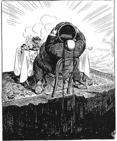 Stars of Political Cartooning – Art Young   Comics Should Be Good! @ Comic Book Resources Young's description of Capitalism