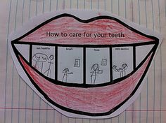 How to care for your teeth... for How-To's and Dental Hygiene week. love it!