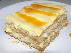 Torta fria de guanabana Trifle Desserts, Dessert Cake Recipes, Lemon Desserts, Cheesecake Recipes, Delicious Desserts, Venezuelan Food, Colombian Food, Colombian Recipes, Savory Pastry