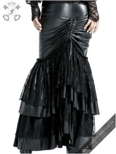 Black Mermaid skirt | Gothic, Steampunk, Rock, Fetish, and other Alternative fashion retail and wholesale apparel & accessories