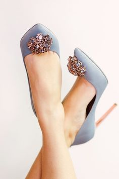 Grey high heel shoes from Ted Baker perfect for your bridesmaids