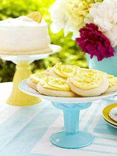 Leave the plate as you purchased it, or paint only the bottom so the top remains food-safe. Once the pieces are dry, epoxy the glass to the plate bottom and let cure according to package instructions. Stack several for a charming, tiered cake stand. Pile on the treats and let them eat cake!