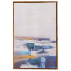 Living & Co Wall Art Canvas Framed Abstract ocean 40 x 60 x Canvas Frame, Canvas Wall Art, Warehouse, Ocean, Bathroom, Abstract, Painting, Image, Washroom