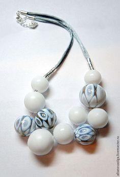 glass bead toggle clasp patricia larsen art jewelry lampwork pinterest