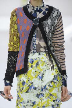 Louise Gray at London Fashion Week Spring 2013 - StyleBistro