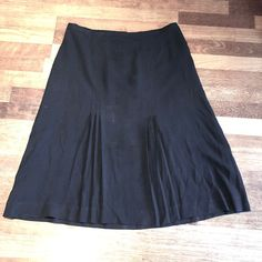 Excited to share this item from my #etsy shop: Vintage late 1930s Black Crepe Skirt | Large 1930s Style, Crepe Skirts, 1930s Fashion, Vintage Outfits, Etsy Shop, How To Wear, Clothes, Shopping, Black