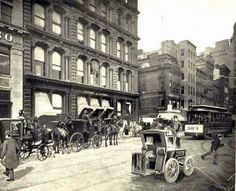 The original Tiffany & Co.'s headquarters in 1899 located at 15 Union Square West