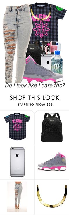 """"" by g-0-l-d-3-n-princess ❤ liked on Polyvore featuring Michael Kors, NIKE and ASAP"