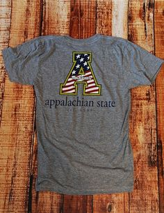 App State American Pride SS - ATHGRAY