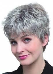 short platinum grey hairstyles - Google Search