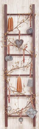 ladder with 'fixins'