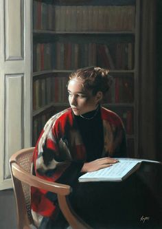✉ Biblio Beauties ✉ paintings of women reading letters books - Shelley Thayer Layton Reading Art, Woman Reading, Reading Books, People Reading, Albert Bierstadt, Books To Read For Women, Carl Larsson, Book Letters, Fine Art