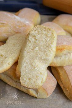 Przepis na bułeczki jogurtowe - Orchideli - przepisy na torty i słodki stół Bread, Food, Brot, Essen, Baking, Meals, Breads, Buns, Yemek