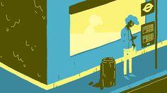 Ruben Leaves (2015) by Frederic Siegel: http://shortfil.ms/film/ruben-leaves-2015 #shortfilm #animation