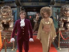 Beyoncé in Austin Powers Goldmember 2002