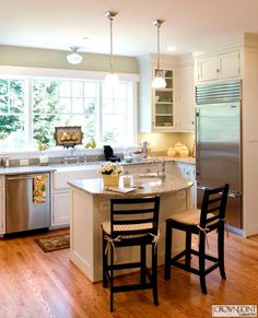 Wonderful Curved Kitchen Island Ideas, Small Kitchen Islands, Kitchen Lighting For  Smallu2026