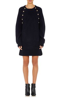 Chloé Rib-Knit Sweaterdress - Short - Barneys.com