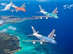 All Nippon Airways debut new Airbus Flying Honu aircraft adorned with Hawaiian sea turtles in Honolulu, Oahu. Commercial Plane, Commercial Aircraft, Airplane Art, Airplane Photography, Ocean Day, Passenger Aircraft, Airbus A380, Sao Paulo, Cars
