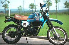 1981 Paris Dakar Yamaha XT500